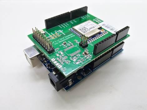 LoRaWANデバイス・Arduino